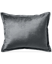 "Donna Karan Exhale Taupe 16"" x 20"" Decorative Pillow"
