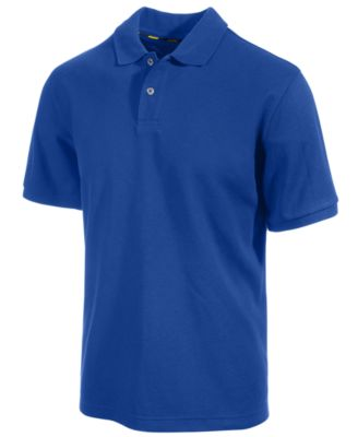 Club Room Classic-Fit Solid Performance UPF 50 Polo Created for Macys