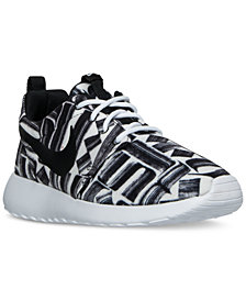 Nike Women's Roshe One Print Casual Sneakers from Finish Line