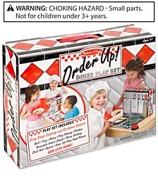 Kids' Order Up! Diner Play Set