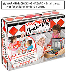 Melissa and Doug Kids' Order Up! Diner Play Set