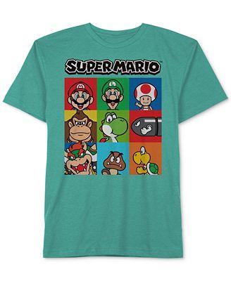 Nintendo Super Mario T Shirt Little Boys 2 7 Shirts