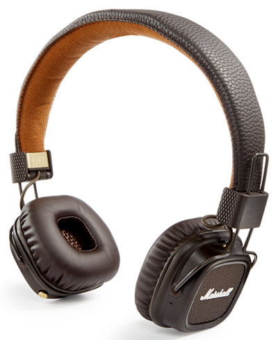 marshall major ii bluetooth headphones gifts games men macy 39 s. Black Bedroom Furniture Sets. Home Design Ideas