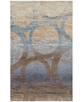 "Traveler  Sydney Chocolate 9'6"" x 13'2"" Area Rug"