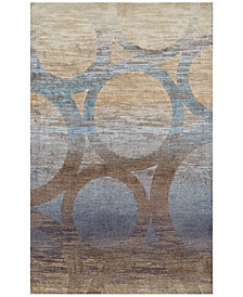 "Traveler  Sydney Chocolate 7'10"" x 10'7"" Area Rug"