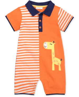 First Impressions Giraffe Romper Baby Boys (024 months) Created for Macys