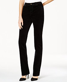 Charter Club Lexington Corduroy Straight-Leg Pants, Created for Macy's