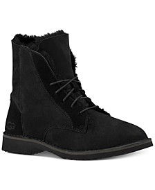 Women's Quincy Lace-Up Boots