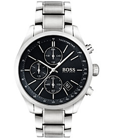BOSS Hugo Boss Men's Chronograph Grand Prix Stainless Steel Bracelet Watch 44mm 1513477