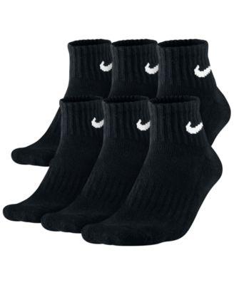 collections à vendre Nike Chaussettes Hommes Dri Fit Noir Trimestre wiki jeu des prix kslhgfKJ