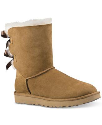 ugg women s bailey bow ii boots boots shoes macy s rh macys com