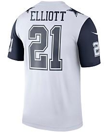 Nike Men's Ezekiel Elliot Dallas Cowboys Legend Color Rush Jersey