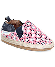 Robeez Soft Soles Blossom Mania Shoes, Baby Girls