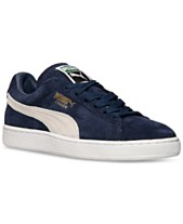 5ece39f29ae Puma Men s Suede Classic+ Casual Sneakers from Finish Line
