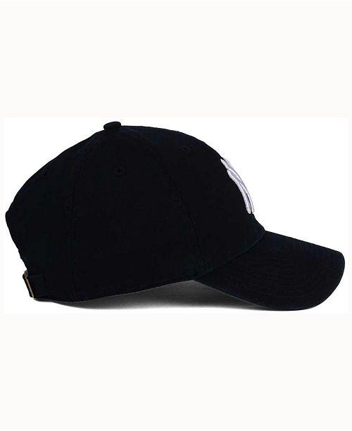 a7ca82416d4dd 47 Brand New York Yankees Black White CLEAN UP Cap   Reviews ...