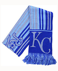 Forever Collectibles Kansas City Royals Glitter Stripe Scarf