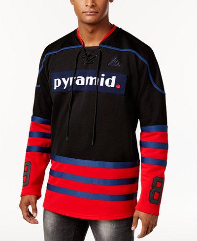 Black Pyramid Men's Three-Stripe Hockey Jersey