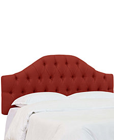 Jaycin King Diamond Tufted Headboard, Quick Ship