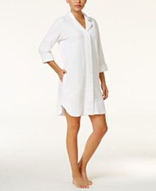Charter Club Snap Front Terry Robe, Created for Macy's