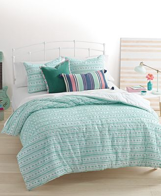 closeout! whimmartha stewart collection on the dot seafoam 3