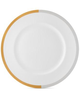 Castillon Gold/Gray Collection Dinner Plate