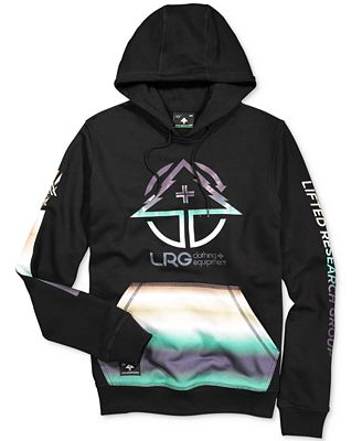 LRG Men's Big Band Graphic-Print Logo Hoodie - Hoodies ...