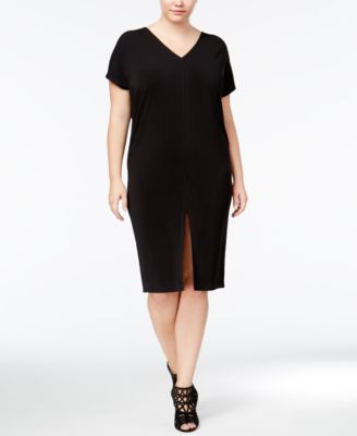RACHEL Rachel Roy Curvy Trendy Plus Size Caftan Dress
