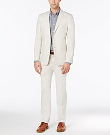 CLOSEOUT! Lauren Ralph Lauren Men's Solid Stone Slim-Fit Suit
