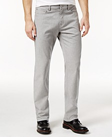 Men's Straight-Fit Gray Wash Jeans, Created for Macy's