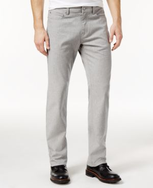 Alfani Men's Straight-Fit Gray Wash Jeans, Created for Macy's 3706213