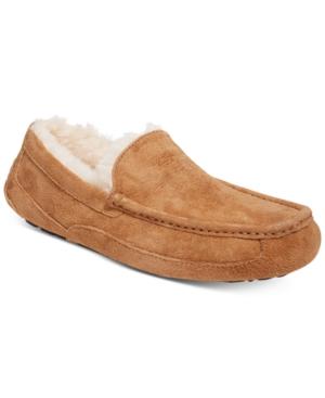 Ugg Men's Ascot Moccasin Slippers Men's Shoes