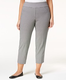 Women's Plus Size Pants - Macy's