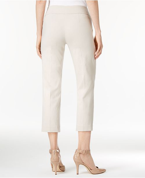 ea1208c00f2915 Style & Co Pull-On Cropped Pants, Created for Macy's & Reviews ...