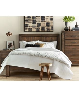 avondale platform bedroom furniture collection - Cal King Platform Bed Frame