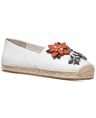 MICHAEL Michael Kors Heidi Embellished Espadrille Flats