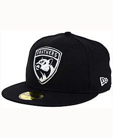 New Era Florida Panthers Black Dub 59FIFTY Cap