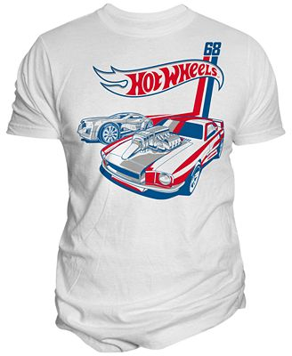 Changes Men's Hot Wheels Muscle Car Graphic-Print T-Shirt