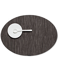 Chilewich Bamboo 14'' x 19.25'' Oval Placemat