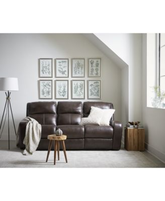 Hannon Leather Power Reclining Sofa Collection, Created For Macyu0027s