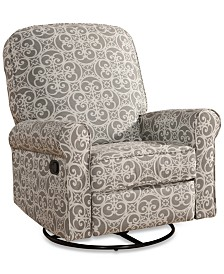 Wynston Swivel Glider Recliner, Quick Ship