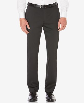 The Lee Men's No Iron Flat Front Pant Provides a Relaxed and Comfortable Fit for All Men. With a crisp flat front and straight leg, these Men's No Iron Flat Front Pants look great with everything. Made from wrinkle-resistant cotton twill, these essential men's khakis are guaranteed to keep a fresh, wrinkle-free appearance right out of the dryer.