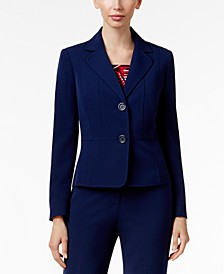 Two-Button Blazer, Regular & Petite