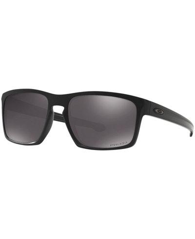 Oakley Sunglasses, OO9262 SLIVER PRIZM DAILY