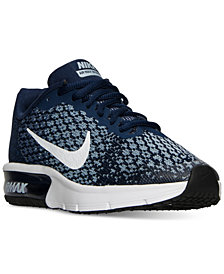 Nike Big Boys'   Air Max Sequent 2 Running Sneakers from Finish Line