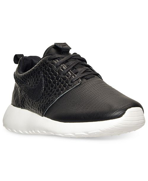 pretty nice 10f16 16d61 ... Nike Women s Roshe One LX Casual Sneakers from Finish ...