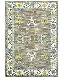"CLOSEOUT! Vibe Isfahan Gray 6'7"" x 9'6""Area Rug"