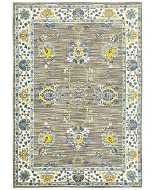 CLOSEOUT! JHB Design Vibe Isfahan Gray Area Rugs