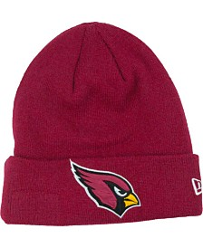 New Era Arizona Cardinals Basic Cuff Knit Hat
