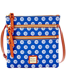 Dooney & Bourke Chicago Cubs Triple-Zip Crossbody Bag