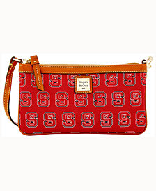 Dooney & Bourke North Carolina State Wolfpack Large Slim Wristlet